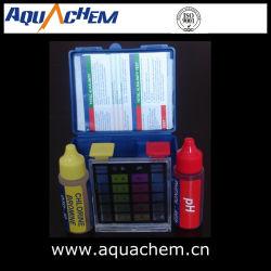 Kit della prova della piscina, prova del cloro, prova di pH