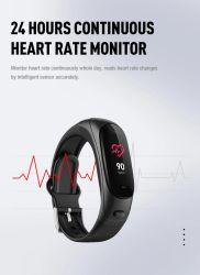 Logo personnalisé de nouveaux écouteurs sans fil écouteurs TWS 5.0 Ear Band Microphone Ludos Smartwatch pour les femmes V08PRO