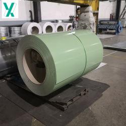 Bobine d'acier galvanisé prélaqué Feuille d'usine PPGI DX51d'acier de fer de la Chine