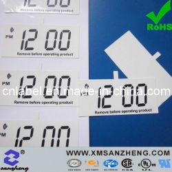 Permanente de electrónica de vinilo resistente al agua, gestión de activos de la película protectora estática