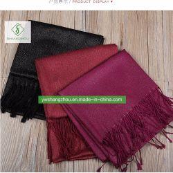 scarf 100%년 면 보통 금 회교도 Hijab 숄 형식 숙녀