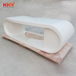 Современный дизайн твердой поверхности подписи по кривой 2 Лицо Office Desk (61104)