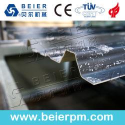 Linea di produzione ondulata dello strato delle mattonelle di tetto di colore di plastica di PVC+PMMA/ASA strumentazione composita dell'espulsione delle mattonelle di tetto della costruzione
