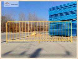 La seguridad del tráfico y seguridad vial mediante el control de multitudes de acero galvanizado, barreras, barreras temporales, temporales, valla, el Centro de barrera de aislamiento y las barreras de carretera