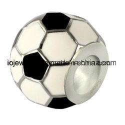 Fabriqué en Chine Bijoux charm perle de football accessoire de mode
