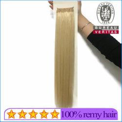 Cheveux humains Virgin sèche 613 n° 18 pouces de haut niveau de qualité de style droites noeud Thread hair extension Remy Hair