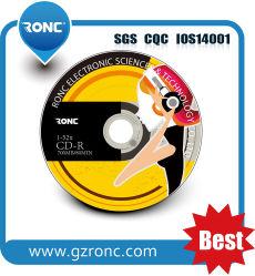 CD-R Wholesales unbelegte CD-R mit kundenspezifischem Firmenzeichen