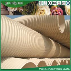 Goody ПВХ-U Double-Wall гофрированную трубу из ПВХ трубы для промышленных сточных вод дренаж