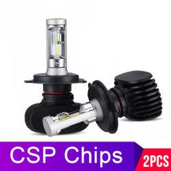 Projecteur à LED de voiture de gros S1 H4 LED lampes H7 Auto H11 9005 Ampoule de projecteur H1 H3 9004 9007 H13