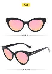 Новый раунд в стиле ретро рамы солнечные очки T-образный тенденции солнцезащитных очков