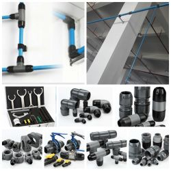 Qualidade de alta pressão elevada fabricado na China de alta qualidade, preço baixo do tubo de ar do compressor de ar com Compressor de Ar Peças