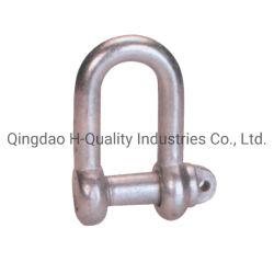 La goccia del acciaio al carbonio del hardware di sartiame ha forgiato BS3032 grande Shakle Chain
