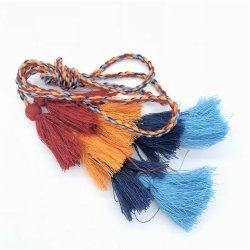 5cm 8cm garniture colorée Bijoux moins cher le coton Mini Tassel pour l'écharpe