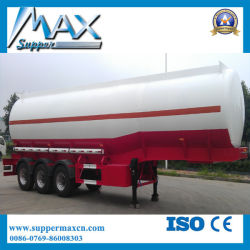 40000 litri del combustibile derivato del petrolio dell'autocisterna del trasporto del serbatoio di rimorchio semi/rimorchio del camion