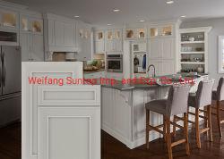 Amerikanische Küche-Möbel-festes Holz-Ahornholz-Küche-Schranktür