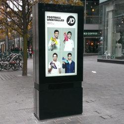 접촉 스크린 옥외 디지털 Signage 선수를 광고하는 지면 대 WiFi LCD