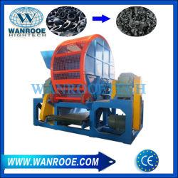 prix d'usine machine de recyclage des déchets produits en caoutchouc semelles des chaussures de morceaux de caoutchouc Shredder
