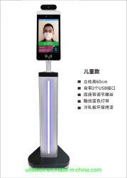 Montage mural du détecteur de température du corps de l'écran numérique de la reconnaissance de visage avec la porte de lecteur du système de contrôle d'accès et la fréquentation des logiciels