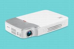 Yi-605 новейшие модели 150 ANSI лм Mini DLP проектор для домашнего использования Bluetooth Beamer встроенного в Android 5.1 и WiFi Eshare системы беспроводной связи для мобильных ПК