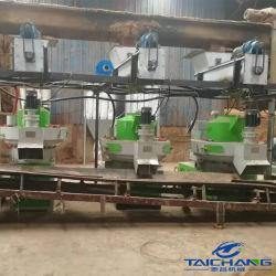 Taichang 1-3t/h Venta caliente prensa de pellet de madera/Línea de producción de pellets de madera