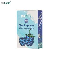 Kit di fumo del dispositivo d'avviamento di Cig della batteria E di EGO della penna del lampone del vaporizzatore blu di sapore