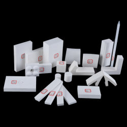 Doublure de l'alumine industriels résistant d'usure avec 92% & 95% de l'alumine céramique