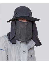Custom Upf50+ Polyamide Summer Sun Hat, ademende Visor Hat 360° Protective for Man 3