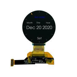 1.2スマートな腕時計のためのインチ390X390の解像度円形OLEDのモジュールかスクリーンまたは表示