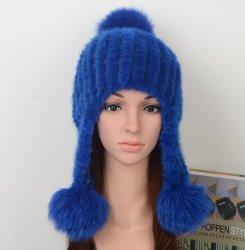 Verdadera Mink Fur Hat Fashion Style, Modelo Mfh04-02