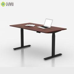 fait sur mesure le fer de style américain Bureau exotiques meubles de bureau Talbe réglable en hauteur