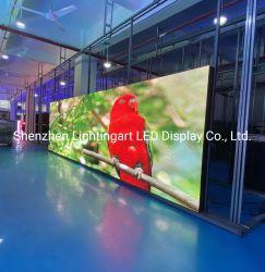 빠른 설치 P6.66 P8 P10 실외 방수 LED 광고 디스플레이 화면 패널
