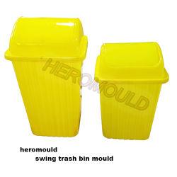 Эбу системы впрыска пластика пресс-форм, пластиковые крышки поворотного механизма корзину Бен Mold пластика в мусорное ведро Mold Heromold поворотного механизма