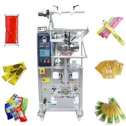 자동 사켓 꿀/케첩/소스/액상 주스/오일 /Peanut 버터/아이스 롤리/아이스 팝/잼/크림/샐러드/수프/토마토 페이스트 패킹 포장 기계
