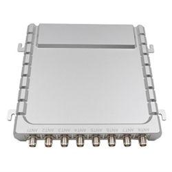 قارئ بطاقات تعريف بطاقات موتيل ISO18000-6c UHF RFID الثابت ذو 8 منافذ