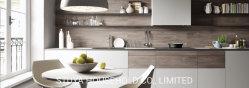Formulario de diseño moderno Mobiliario de casa de cristal y de la Junta de melamina puertas de armario de cocina