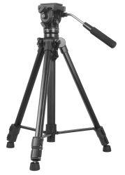 Cavalletto professionale leggero per videocamera Kingjoy VT-1500 per fotocamera DSLR