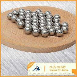 2.0 مم-25.4مم G10-G2000 من الفولاذ المقاوم للصدأ/304 (L) /316 (L) /420 (C) /440 (ج) / AISI430 كرات فولاذية للمحمل
