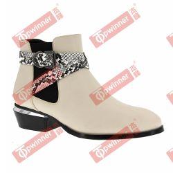 De comfortabele Dames vormen de Militaire Laarzen van de Enkel met Recentste Ontwerp