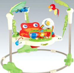 تصميم جديد متعددة الوظائف لعبة أرجوحة الطفل القفز كرسي الأطفال لعب