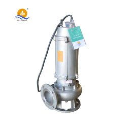 Eléctrico sumergible centrífugo de alta presión de bomba de agua de alcantarillado