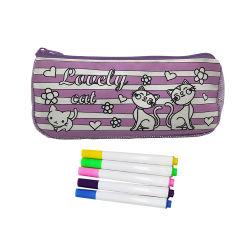 regalo de promoción Conjunto de juguetes para niños DIY lápiz de dibujo de Brillante Caso