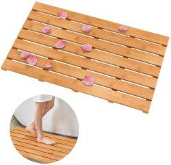 Природные бамбуковые Деревянные ванны коврик - ванная комната и кухня ковров, Bathmat Аксессуары для ванной, джакузи и душ двери шаг