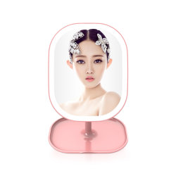 Großhandelspreis-Arbeitsweg-Verfassung mit LED leuchten Spiegel-Kosmetik-Spiegel