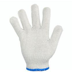 Baumwoll-Strickhandhandschuhe Arbeitshandschuhe Sicherheitshandschuhe Poly Cotton Garn