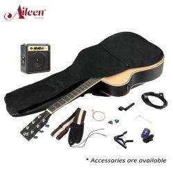 Tamanho total 36 - 41 polegadas com EQ violão acústico eléctrico avançando aluno Kit Guitarra Instrumentos musicais de Corte (FA168marcação)