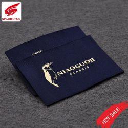 カスタマイズされたカラー衣類のマークのヘッド洗浄によって編まれるラベルのロゴの商標