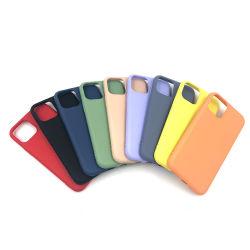 Vendita all'ingrosso accessori per telefoni cellulari Luxury Plain infrangibile antiurto Ultra sottile Cella di copertura per paraurti in PVC morbido in silicone acrilico TPU PC Custodia del telefono