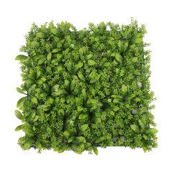 Горячая продажа сад для использования внутри помещений декоративной поддельные зеленые листья растений пластиковые искусственных травяных цветочный декор зеленых растений хеджирования панели