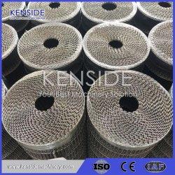 Nastro trasportatore termoresistente della rete metallica del nastro trasportatore dell'acciaio inossidabile per le piante di alimento, industria alimentare