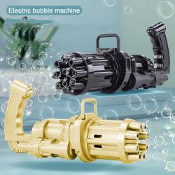 Giocattoli per acqua saponata da 7,8 pollici per macchina automatica con pistola a bolle